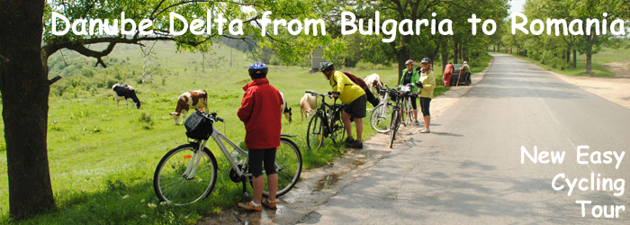 Danube Delta from Bulgaria to Romania - New Easy Cycling Tour