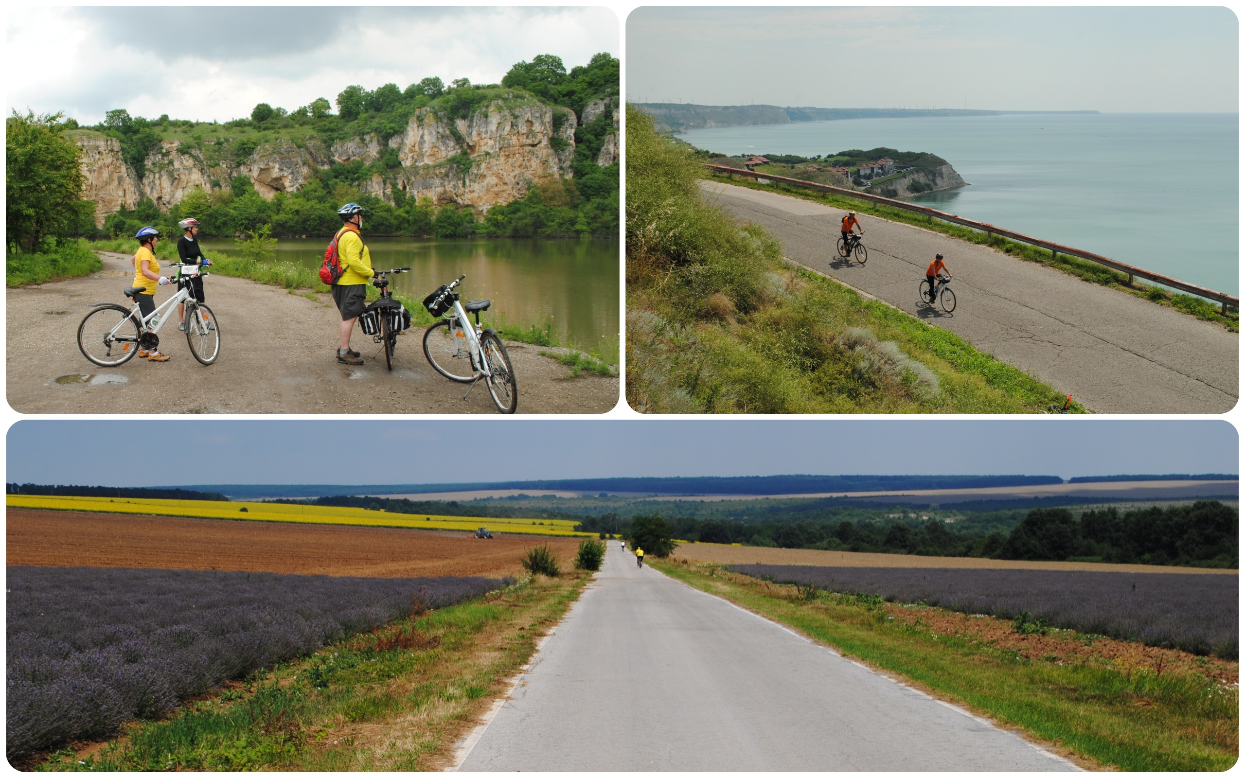 Guided bicycle tours in Romania and Bulgaria - fully supported and well organized, multi day bike rides