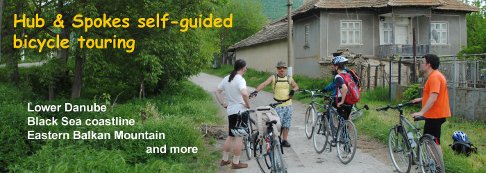 Hub and Spokes self-guided bicycle touring