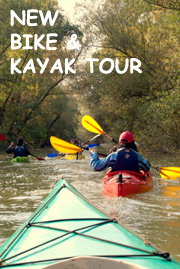 NEW BIKE AND KAYAK TOUR